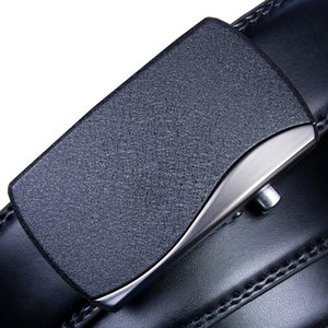 Hot sale New Black High Quality Designer Fashion buckle belt mens womens 12