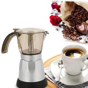 150/300 мл портативный электрический кофемашина из нержавеющей стали Espresso Mocha Coffee Maker Pot Home Kitchen Tools Eu Plug Sea Shipping DHE3799