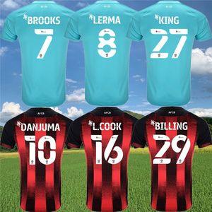 2020 2021 La ciliegia camicia AFC maglie calcio LERMA Danjuma SOLANKE KING L.COOK BROOKS Calcio 20 21 AFC maillots de kit piede bambini