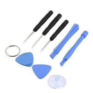 2000sets (16000pcs) 8 em 1 Reparação Abertura Pry Tools Kit set com 5 pontos Estrela Pentalobe Torx chave de fenda para iPhone 5 5s 6 Plus 7