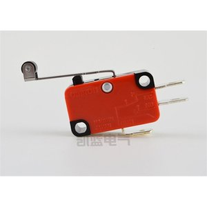 NO+NC Hinge Lever V-156-1C25 Long Micro Arm Roller Switch Lever 100% Brand New Momentary Limit Micro Switch SP