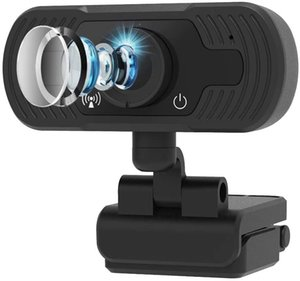 Webcam with Microphone, Web Cameras for Computers 1080P,Web Cam for Zoom Video Conference, YouTube,Recording, Skype and Streaming,Computer C