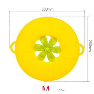 26 * 30 cm Cooking 3D Flower Sile Lid Spill Strupper Anti-Woverflow Splash Cover Sile per Pot Pan Cucina Accesso SQCRCT PPSHOP01