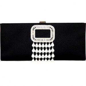 진주 단추가있는 Be027High-end 여성의 가방 부드러운 저녁 가방 수제 패치 워크 컬러 패션 부티크 레이디 핸드백