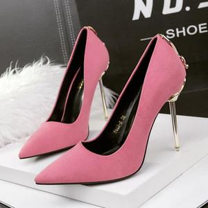 Saint Valentin Chaussures Extreme High High Heels Chaussures élégantes pour femme Haute High Talons Party for Women Femmes de luxe Pumps Butée
