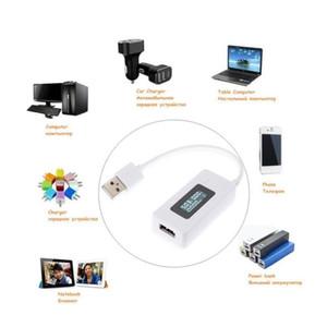 شاشة LCD مصغرة الإبداعية الهاتف USB تستر المحمولة الطبيب الجهد الحالي متر متنقل الطاقة c wmtssf bendenet