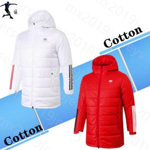 Kış sporları eşofman giysi 20 21 2021 Pamuk ceket REAL MADRID Spor Coat eşofman Futbol Kapşonlu eğitim TEHLİKESİ BENZEMA RAMOS