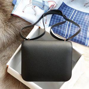 Monedero de los bolsos de mano de calidad superior Versión bolsas de diseñador CC 19Cm 24CM bolsa de cuero reales totalizadores de la manera del monedero del bolso de la mujer bolso de marca famosos