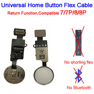 YF End Edition Universal Home Button Flex Cable for iPhone 7   7P   8   8 Plus Return Key 4 Colors Replacement