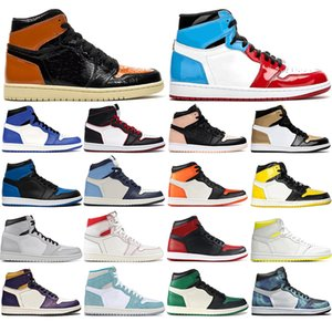 2021 JD jumpman 1s Basketball Shoes 1 for women men Banned Crimson Tint Pine Green Backboard Sport Sneakers Game Royal Mens Trainers 36-46