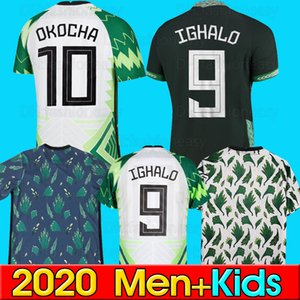Top qualité thaïlande maillots de football 2020 2021 Okechukwu OKOCHA AHMED MUSA MIKEL IHEANACHO football kit football tops chemises 2020 Home Away Soccer jersey