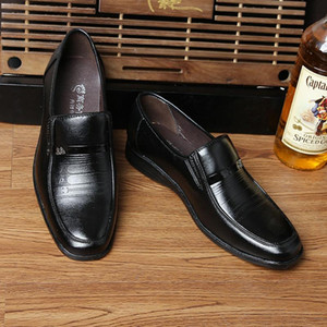 SexeMara Leather Casual Driving Oxfords Shoes Men Loafers Moccasins Italian Shoes For Men Flats NO-H-01
