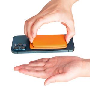 100 stücke DHL PU Leder Brieftasche Beutel Ausweise Karteninhaber Hülle mit Magnetsprecher Fallabdeckung für iPhone 12 Mini Pro max