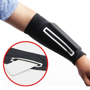 Sports Arm Sleeve Phone Arm Bag Cycling Warmer Summer Running UV Protection Sunscreen Bands