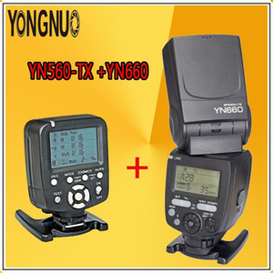 YONGNUO YN660 Flash Radio Master Slave for Pentax + YN560TX LCD Wireless Flash Controller Transmitter