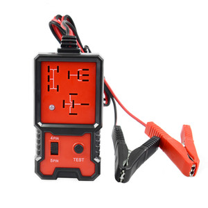 Hot Universal 12V Cars Relay Tester Relay Testing Tool Auto Battery Checker Accurate Diagnostic Tool Portable Automotive Parts