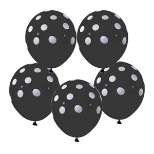 10pcs lot 12inch Multicolor Polka Dot Balloons Inflatable Latex Balloons For Wedding Birthday Party Baby Shower Decoration Cheap wmtsBq