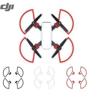 Cubierta DJI SPARK RC Quadcopter Drone Accesorios hélice guardas de protección a prueba de caídas Círculo Blanco Rojo Negro