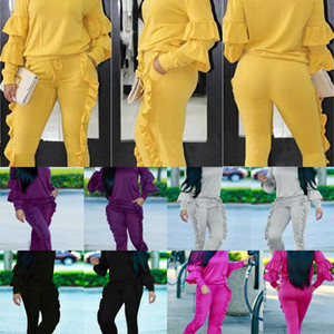 0FR0 Two Piece Set Women#039;S Top Casual Crop Tracksuits Printing Pants Zipper Autumn Sweatsuit Long Sleeve And Spring Outfits Set Female