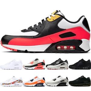 Yeni Varış Erkekler Kadınlar Için Bred Koşu Ayakkabıları Turuncu Camo Üçlü Beyaz Siyah Kızılötesi Uluslararası Bayrak Paketi Erkek Trainer Sneakers 36-45