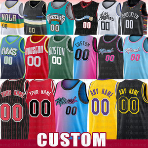 Barato 2021 Nuevo Malla Retro Los Angeles Personalizados Mans Jerseys Movie Space Jam Tune Squad Jersey Tamaño S-XXL