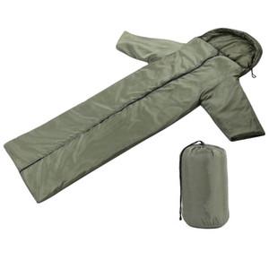 Открытый спальный мешок для кемпинга Рукав спальный мешок Теплый Сумки для взрослых сна для путешествий Туризм Принадлежности