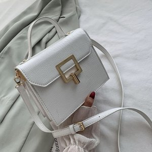 2020 new White Handbags and Purses for Women Trend Leather Vintage Shoulder Bag's Lady's Hand Bag Flap Crossbody Bags Free Delivery
