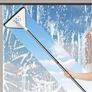 Yorede Многофункциональные плоские швы для стирки Windows Телескопические стекло стекла Двухборочная Обоискательница Чистящие средства Главная Чистящие средства 201214