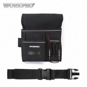 WorkPro Multifunktionsgürtelwerkzeugtasche Werkzeughalter Elektriker Hüfttasche Praktische Arbeit Organizer ZDGX #
