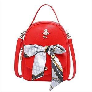 mini backpacks Fashion Women Shoulders Small Backpack Letter Purse Mobile Phone Bag mochila light design 5 color