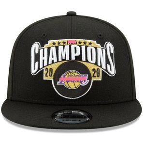 레이커스 새로운 시대의 2020 챔피언스 탈의실 스냅 백 모자 캡 챔피언십 링 기념품 팬 남성 선물