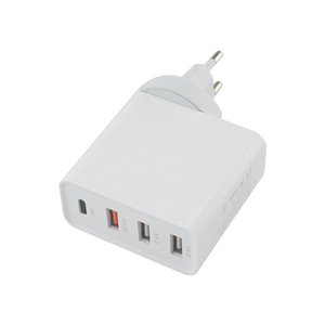CE 48W Multi Quick Charger PD usb C Charger notebook qc3.0 Fast Wall Charger US EU UK Plug Adapter