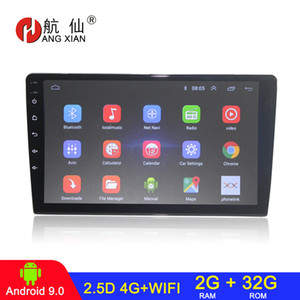 HANG XIAN 2 din car radio autoradio universal android 9.0 car dvd player gps navi audio stereo 4G wifi auto radio 2G 32G