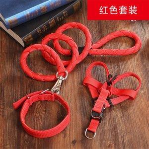 Тяговая веревка плетение нейлоновые домашние животные изделия много цветных собачьих цепочек из трех частей Suite Doggy Hollars фабрика прямая продажа 16me5 P1