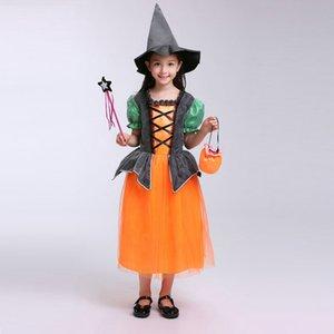 Nueva moda Halloween Performance Disfraz Cap Mago Witch Hat Party Cosplay Sops Borrar sombreros para adultos Kids Clacks Ewe2304