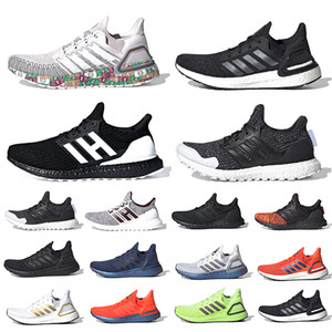 Cloud White Ultra boost 2019 Ultraboost Mens Running shoes Clear Refract Oreo Primeknit 5.0 Dark Pixel Active orange sports trainer men women sneakers