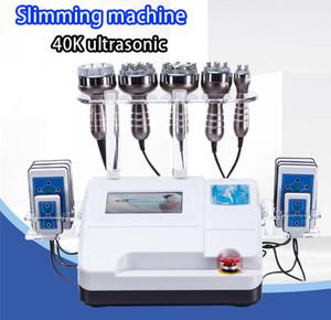 2019 New 6 in1 40K Ultrasonic Cavitation RF Vacuum Suction Body Slimming Beauty Machine CE DHL