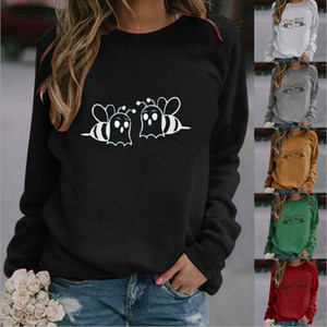 women designers clothes 2020 red Hot sale womens hoodie European and American Hot Printed Round Neck women sweatshirt