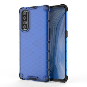 Ultra-Thin Anti-Scratch Mobile Phone Case Shockproof Cover Carbon Fiber Silicone Case for OPPO RENO 3 Pro Back Cover
