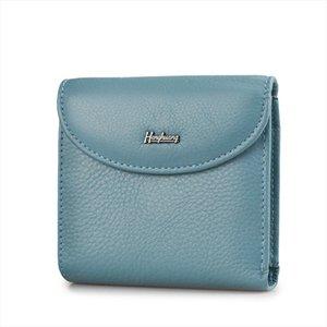 Mini Genuine Leather Women Wallets Slim Ladies Clutch New Design Female Purses Coin Pocket Multi Card holder Bags