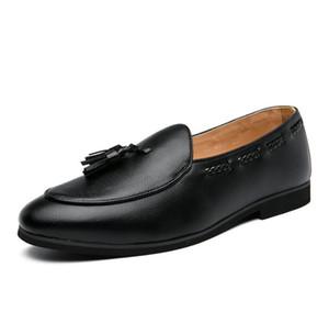 2020 Hot sales mens shoes men dress shoes Groom shoes tassel stylist men luxury loafers 431