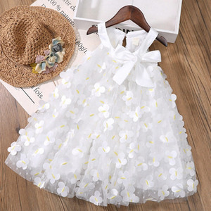 Summer Children Clothing 3D Butterfly Princess Party Dress Lace Tutu Girls Clothes Baby Girls Dress Kids Clothing LE2p#