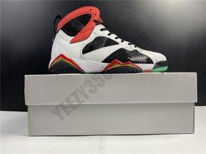 2020 Jumpman GC Большого Китая 7S 7 дракона OG высокой баскетбол обувь Тинкер Cat Инфракрасный Красный CW2805-160 Mens конструктора