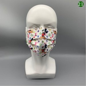 39 Design Brand Designer Anti-Dust Cotton Mouth Face Mask Multicolor Protective Masks Unisex disposable facemask Man Woman Wearing Fashion