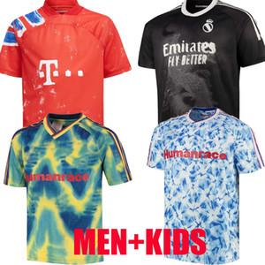20 21 Arsen manchester cavani united UTD X PHARRELL WILLIAMS HUMANRACE REAL MADRID soccer jerseys special 2020 MEN KIDS SHIRTS