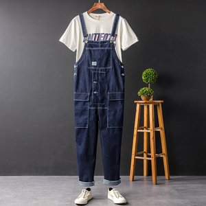 Denim Jumpsuits Overalls For Men Women Fashion Hip Hop Straight Jeans One Piece Jumpsuits Overall Rompers Trousers Clothing
