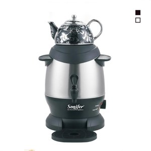 Electric Kettles 3L Stainless Steel Ceramic Kettle Large Size Capacity Household Elcetric Kitchen Samovar Adjustable Temperature Sonifer