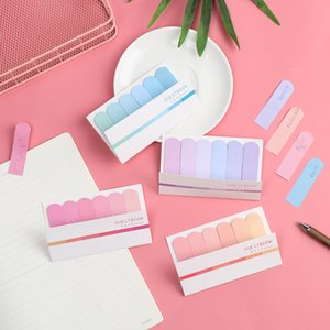 120 Pages Cute Sticky Notes Memo Pad Index Flags Tab Strip Sticker Posted Planner Notepads Stationery Office School Supplies