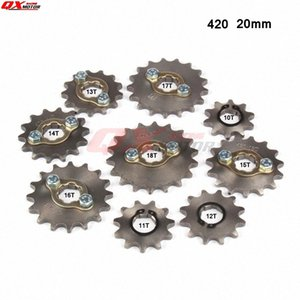 420 10-18T 20mm Engine Front Sprockets for 50cc 110cc 125cc 140cc Scooter Motorcycle Bike ATV Quad Go Kart Moped ZdJc#