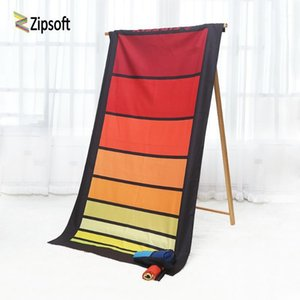 Beach Towel Zipsoft Полотенца Большой Размер Быстрые сухие Спортивные Спортивные Прогулки Поход Кемпинг Душевые Волокна для Бассейна для взрослых1